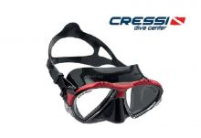 MATRIX MASK SIL BLACK/FRAME RED - DIVE CENTER EDITION